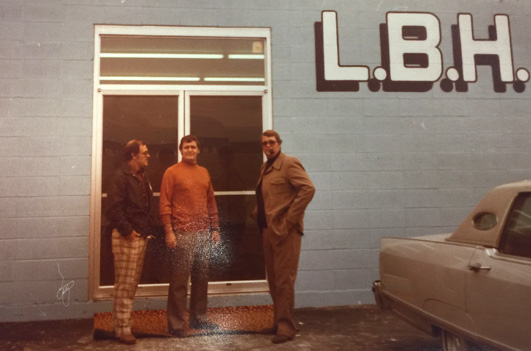 Early photo from LBH Timber Mart